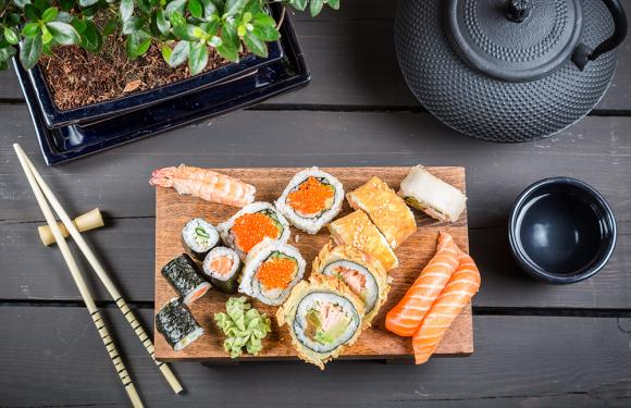 Cinco beneficios de consumir sushi